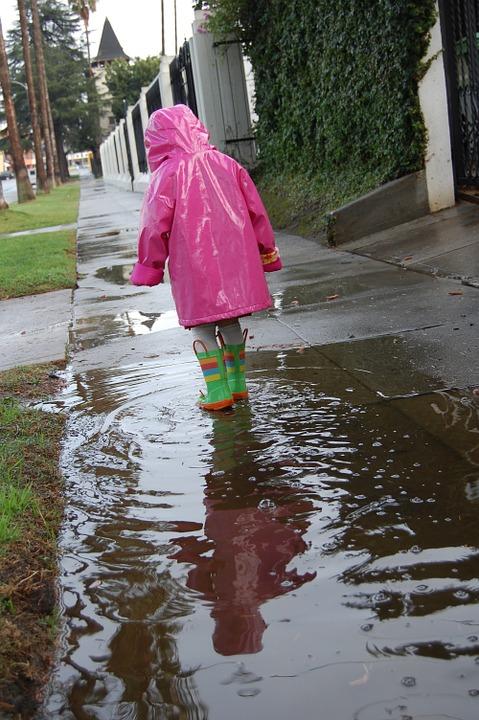 regnsett barn