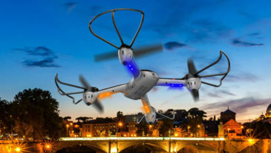 drone med kamera pris
